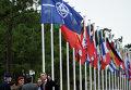 Генсек НАТО Йенс Столтенберг на встрече в городе Троя, Португалия