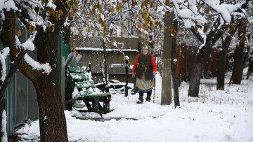 Поселок Донецкий ЛНР, архивное фото