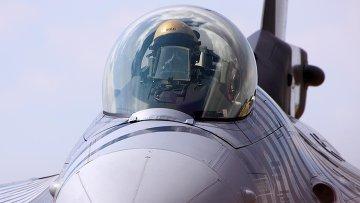 Самолет F-16 ВВС Турции. Архивное фото