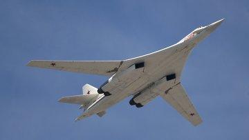 Cтратегический бомбардировщик-ракетоносец Ту-160
