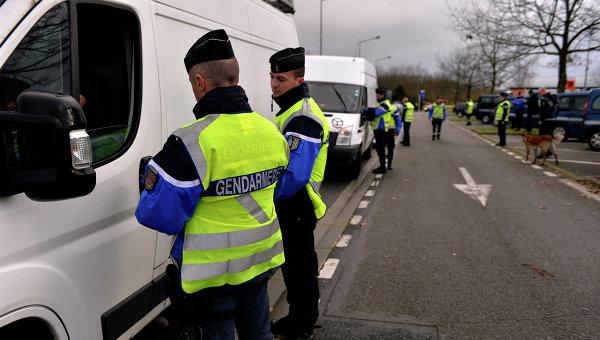 Французские жандармы. Архивное фото