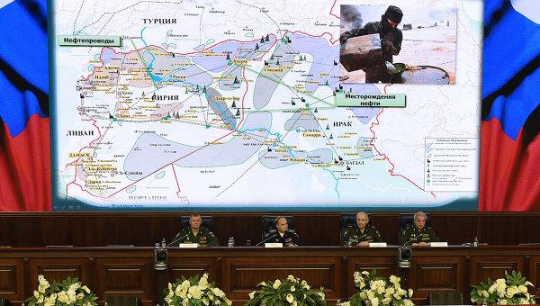 Пресс-конференция в Национальном центре управления обороной Российской Федерации