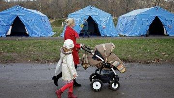 Установка палаток для обогрева в Крыму
