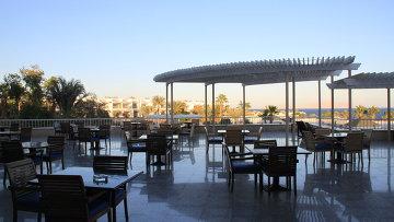 Кафе отеля в Египте