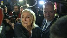Ле Пен поблагодарила французов за высокие результаты Нацфронта на выборах