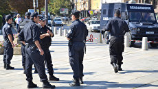 Полиция в Болгарии. Архивное фото