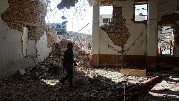 В пригороде Дамаска. Архивное фото