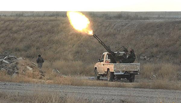 Боевики ИГ в Сирии, архивное фото