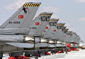 Самолеты F-16 ВВС Турции