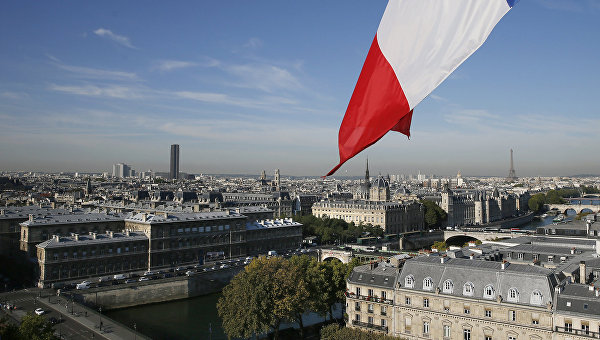 Вид на Париж, Франция. Архивное фото.