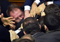 Драка на заседании Верховной Рады Украины