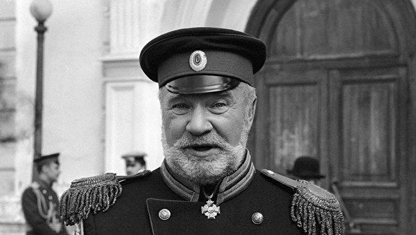 Актер Игорь Кашинцев. Архивное фото