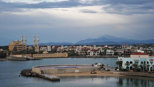 Вид на город Латакия в Сирии. Архивное фото