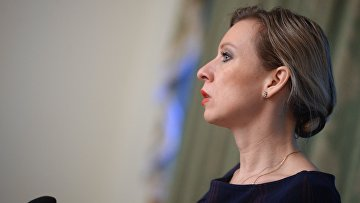 Официальный представитель министерства иностранных дел России Мария Захарова на брифинге по текущим вопросам внешней политики. 16 декабря 2015. Архивное фото