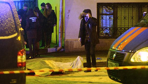 В центре Москвы неизвестный расстрелял мужчину