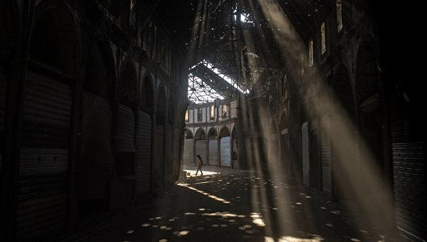 Разрушенный район Хомса аль Хамидия. Архивное фото