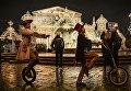 Запуск арт-объекта Корона в рамках фестиваля Рождественский свет на Театральной площади