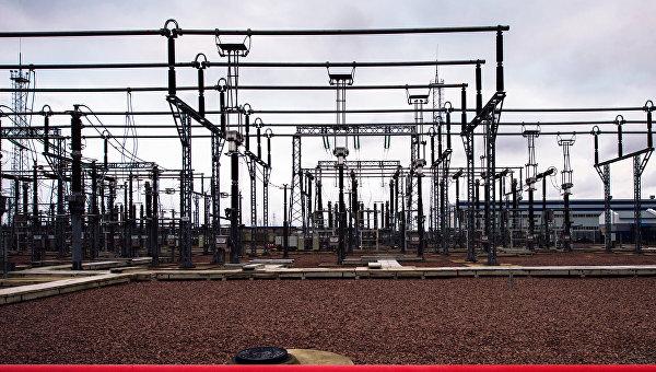 Трансформаторы электроподстанции. Архивное фото