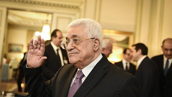 Палестинский лидер Махмуд Аббас. Архивное фото.