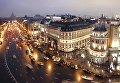 Вид на Москву со смотровой площадки в Центральном детском магазине на Лубянке