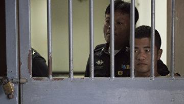 Вин Зав Тун приговоренный к смерти за убийство туристов в Таиланде