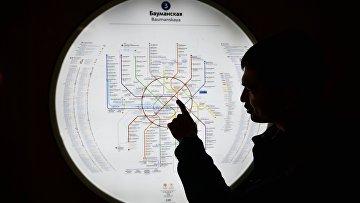 Карта метро. Архивное фото
