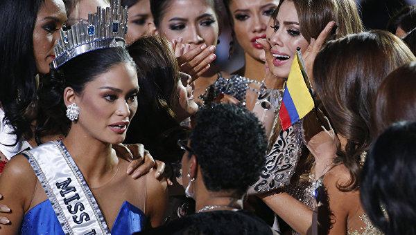 Мисс Вселенная-2015 филиппинка Пия Алонсо Вуртсбах. Архивное фото