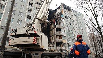 Последствия взрыва газа в жилом доме в Волгограде. Архивное фото