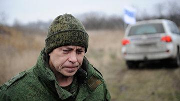 Заместитель командующего штабом ополчения Донецкой народной республики Эдуард Басурин. Архивное фото