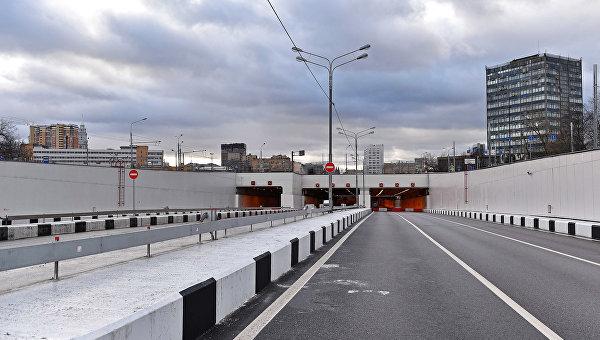 Открытие движения по Алабяно-Балтийскому тоннелю в Москве. Архивное фото