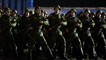 Военнослужащие российской армии. Архивное фото