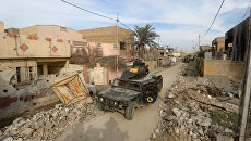 Иракские силы безопасности в городе Эр-Рамади, провинция Анбар
