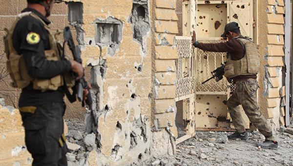 Иракские военные. Архивное фото.
