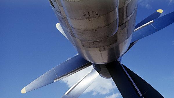 Пропеллер самолета. Архивное фото