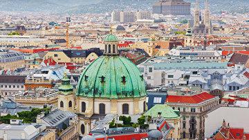Вена, Австрия. Архивное фото