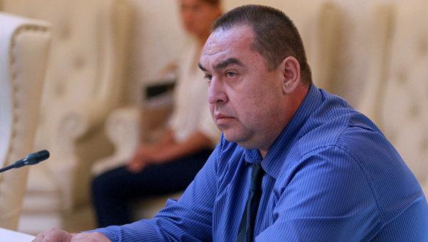 Премьер-министр Луганской Народной Республики Игорь Плотницкий
