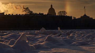 Зимняя погода в Санкт-Петербурге. Архивное фото