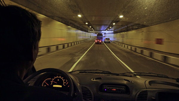 Волоколамский тоннель, архивное фото