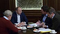 Президент РФ В. Путин дал интервью немецкому изданию Bild