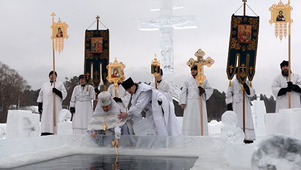 Праздник Крещение Господне в регионах России. Архивное фото