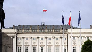 Президентский дворец в Варшаве, Польша