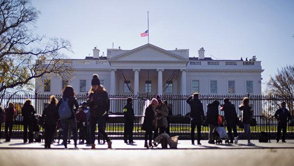 Вид на здание Белого дома в Вашингтоне. Архивное фото