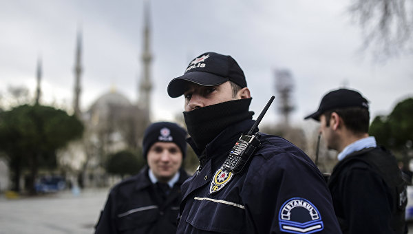 Турецкая полиция. Архивное фото