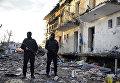 На месте взрыва у здания полиции в Турции