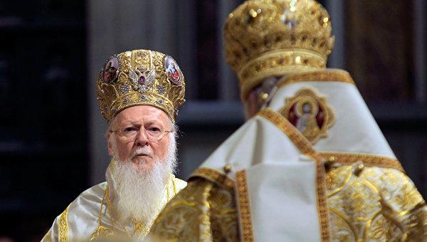 Визит патриарха Варфоломея в Санкт-Петербург. Архивное фото