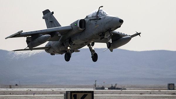 Истребитель AMX итальянских ВВС. Архивное фото