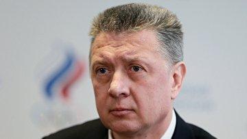 Дмитрий Шляхтин на внеочередной отчетно-выборной Конференции Всероссийской федерации легкой атлетики (ВФЛА) в Москве