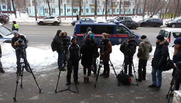 На месте стрельбы на улице Вавилова в Москве
