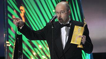 Режиссер Константин Бронзит на церемонии награждения премией Золотой орел. 2010 год. Архивное фото