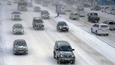 Снегопад в Приморье. Архивное фото